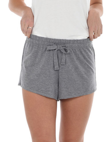 Paper Label Lucia Sleep Shorts-GREY-Small 90028864_GREY_Small