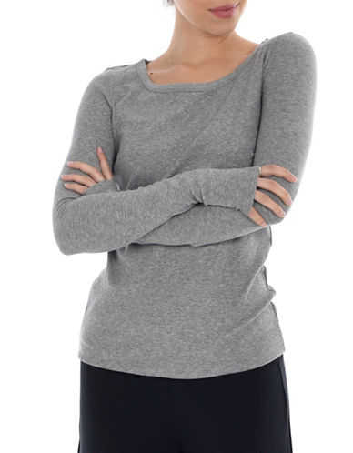 Paper Label Jessa Long-Sleeve Top-GREY-Large 90028913_GREY_Large