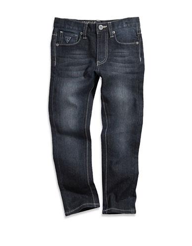 Guess Dark Wash Stretch Skinny Jeans-BLUE-2X