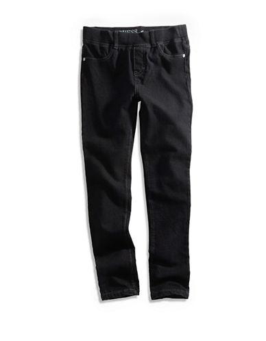 Guess Knit Denim Jeggings-BLACK-12