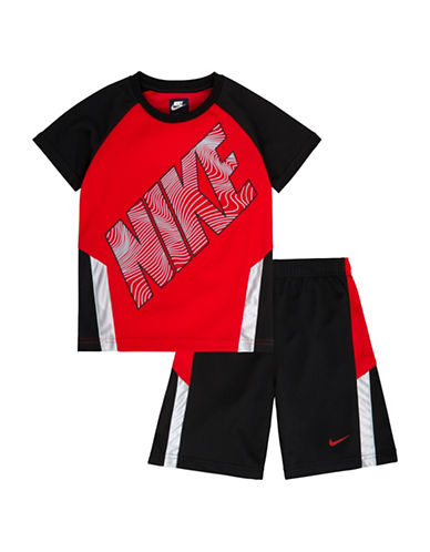Nike Two-Piece Just Do It Tank and Shorts Set-BLACK-2T 89004214_BLACK_2T