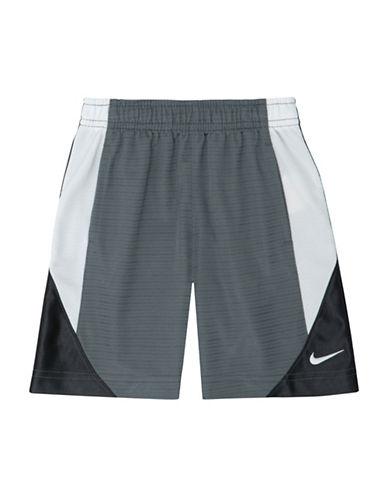 Nike Avalanche Colourblock Shorts-GREY-6 89004204_GREY_6