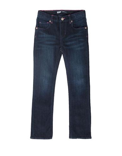 LeviS Jami Heart Slim Straight Jeans-BLUE-2