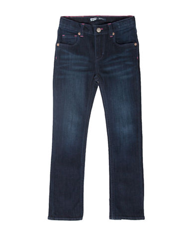 LeviS Jami Heart Slim Straight Jeans-BLUE-6X