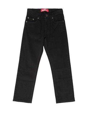LeviS 511 Straight Jeans-BLACK-5