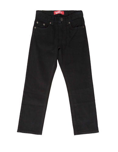 LeviS 511 Slim Leg Jeans-BLACK-16