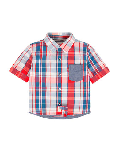 LeviS One-Pocket Shirt-MARS RED-12 Months