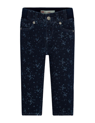 Levi'S Skinny Jeans-BLUE PRINT-12 Months 88723678_BLUE PRINT_12 Months