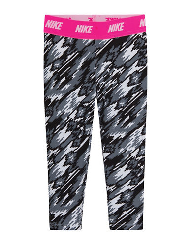 Nike Dri-FIT Sport Essentials Print Leggings-BLACK/WHITE-4 88418935_BLACK/WHITE_4
