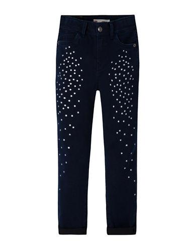 LeviS Star Gazer Skinny Jeans-MIDNIGHT-6X