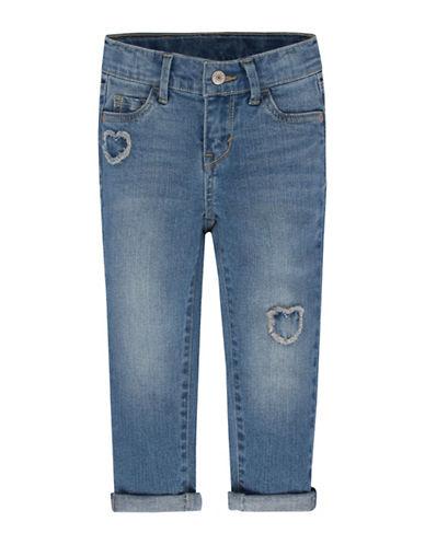 LeviS Star Gazer Skinny Jeans-WATER-6X