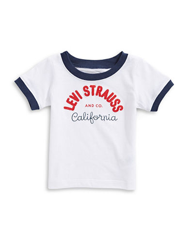 LeviS Graphic Short Sleeve Tee-WHITE-12 Months