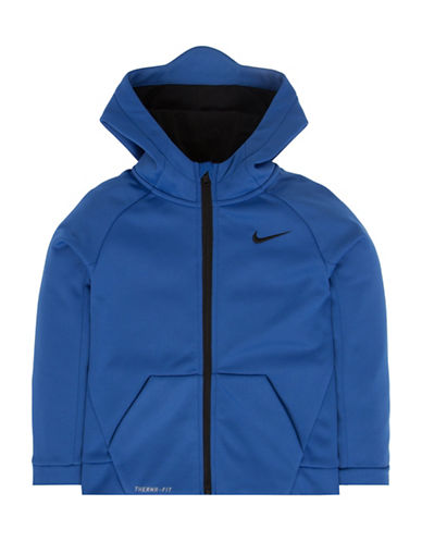 Nike Therma Full Zipper Hoodie-GAME ROYAL-6 88509001_GAME ROYAL_6