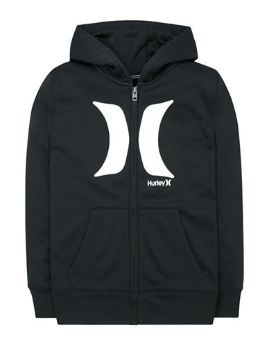 Hurley Therma-Fit Zip Hoodie-BLACK-Small 88663709_BLACK_Small