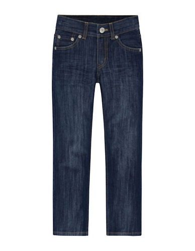 LeviS 514 Straight Fit Jeans-BLUE-4
