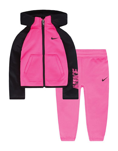 Nike Therma Fit Fleece Set-PINK-3X 88824778_PINK_3X