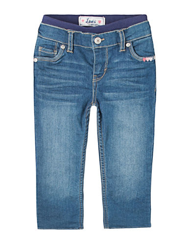 LeviS Brandi Skinny Pants-BLUE-3-6 Months