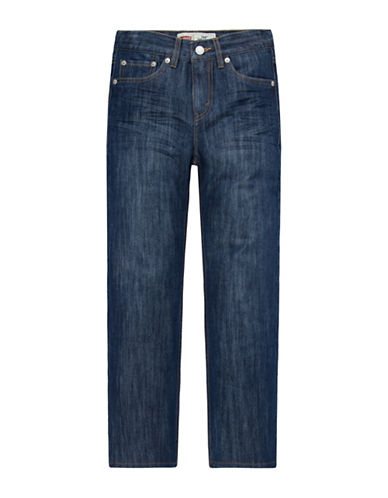 LeviS 514 Straight Jeans-BLUE-8