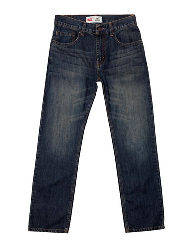 LeviS 505 Regular Fit Jeans-BLUE-7