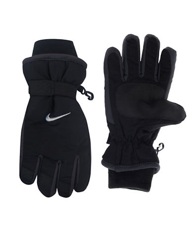 Nike Snow Gloves-BLACK-4-6