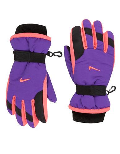 Nike Multi-Tone Snow Gloves-PURPLE-4-6