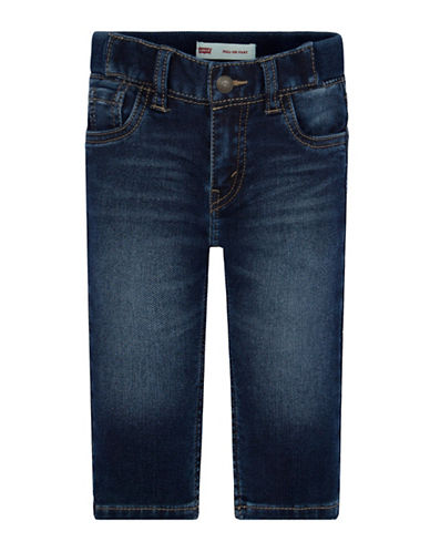 LeviS Hamilton Pull-On Pants-BLUE-18 Months