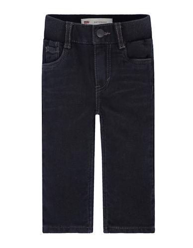 LeviS Hamilton Pull-On Pants-BLACK-12 Months