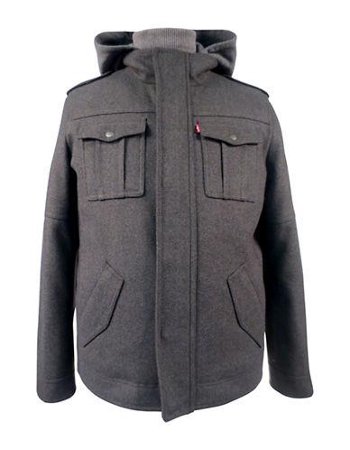 Levi'S Fooler Hooded Jacket-BLACK-Large 88419182_BLACK_Large