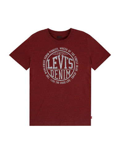 Levi'S Graphic T-Shirt-RED-Medium 88590338_RED_Medium