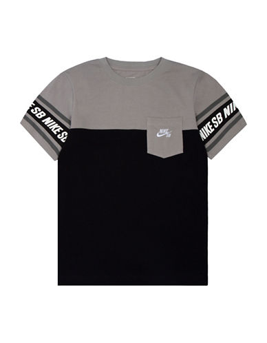 Nike Action Heritage Pocket T-Shirt-BLACK-Small 88655227_BLACK_Small