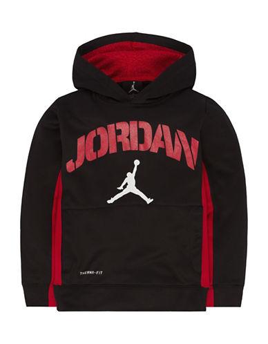 Jordan Pullover Logo Hoodie-BLACK-Small 88618285_BLACK_Small