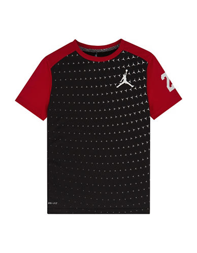 Jordan Dri-FIT Colourblock T-Shirt-BLACK-Medium 88618298_BLACK_Medium