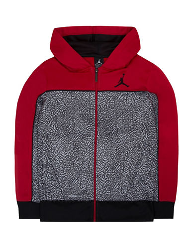 Jordan Full Zip Hoodie-RED-Large 88664801_RED_Large