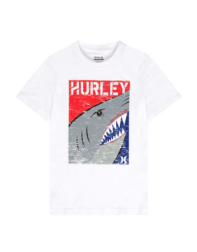 Hurley Shark T-Shirt-WHITE-X-Large 88934757_WHITE_X-Large