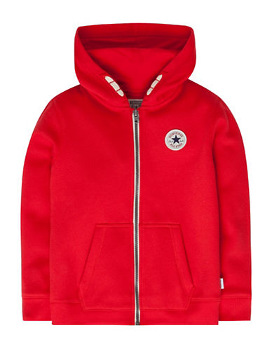 Converse Full-Zip Core Chuck Hoodie-RED-7