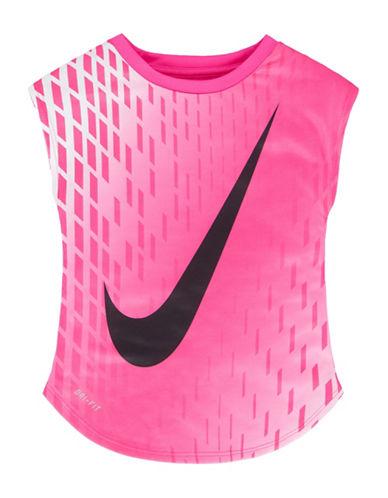 Nike Dri-Fit Short Sleeve Tee-PINK-5 89069142_PINK_5