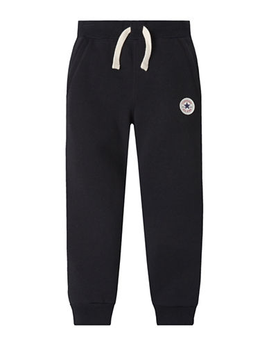 Converse Core Chuck Pants-BLACK-4