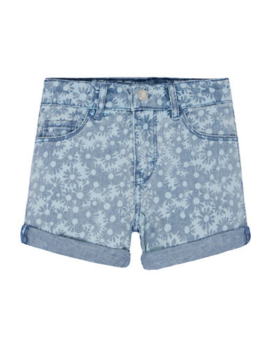LeviS Love Shorty Shorts-BLUE-2T