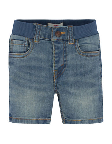 LeviS Westdale Denim Shorts-BLUE-12 Months