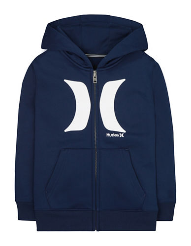 Hurley Therma-Fit Fleece Hoodie-NAVY-3T 88872721_NAVY_3T