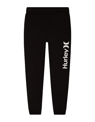 Hurley Fleece Pants-BLACK-Large 88889626_BLACK_Large