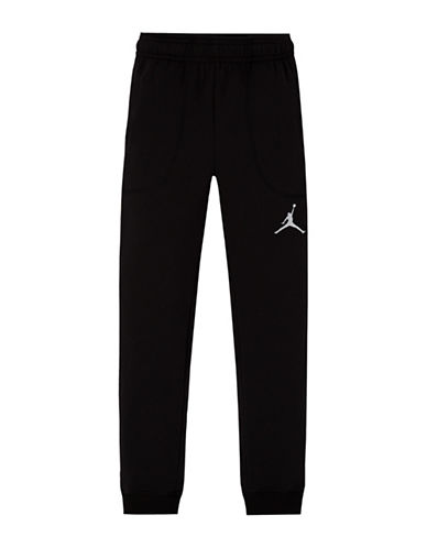 Jordan Varsity Fleece Joggers-BLACK-Large