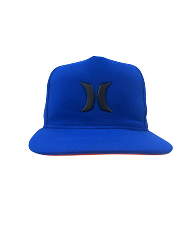 Hurley Embroidered Eyelet Cap-BLUE-8-18