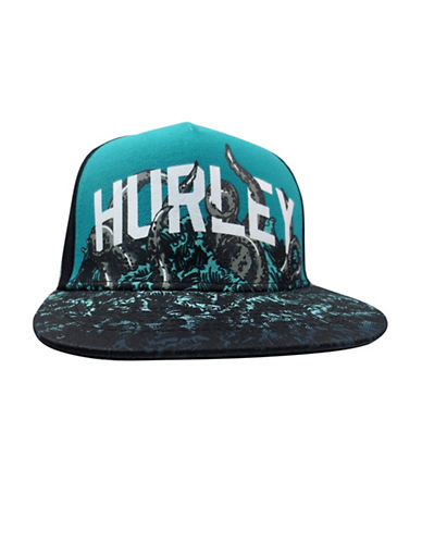 Hurley Pineapple Skull Cap-BLUE-8-18