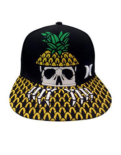 Hurley Pineapple Skull Cap-BLACK-8-18