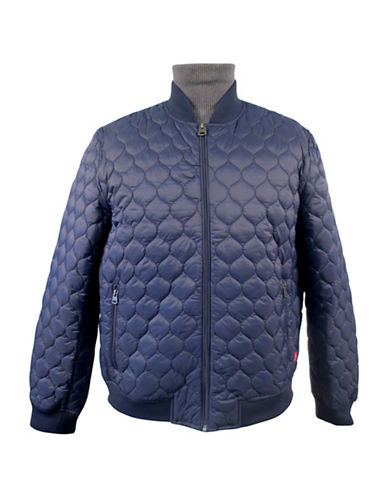 Levi'S Long Sleeve Quilted Jacket-BLUE-Large 89068683_BLUE_Large