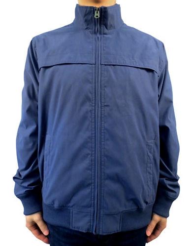 Dockers Microfiber Twill Lightweight Jacket-BLUE-Medium