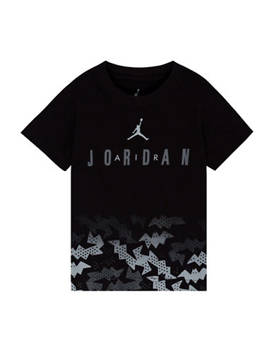 Jordan Jordan Air Bat Print T-Shirt-BLACK-Large 89058185_BLACK_Large