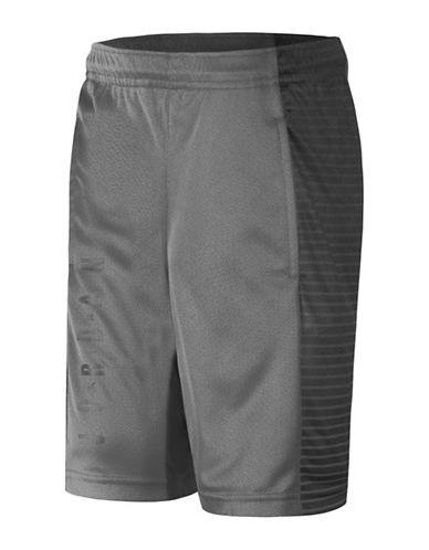 Jordan Screen-Printed Dri-FIT Tricot Game Shorts-GREY-Medium