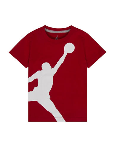 Jordan Jumbo Jumpman Tee-RED-Large